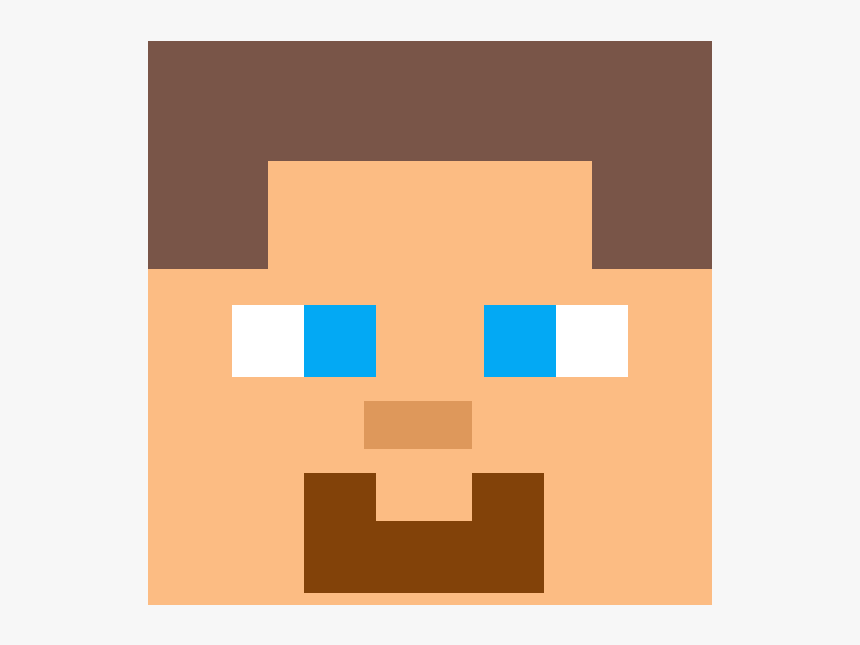 Steve Minecraft Face Drawing Hd Png Download Transparent Png Image Pngitem