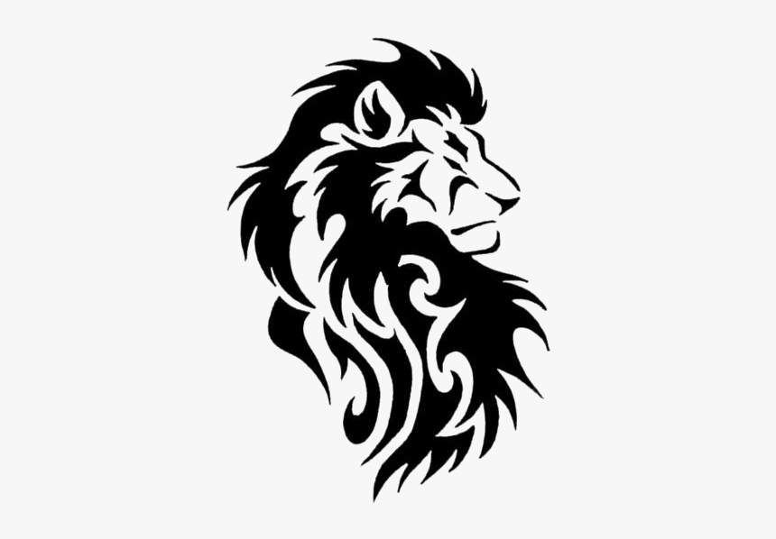 Black Lion Tattoos Png Transparent Background Tribal Lion Tattoo Designs Png Download Transparent Png Image Pngitem Isolated black outline lion on white background. black lion tattoos png transparent