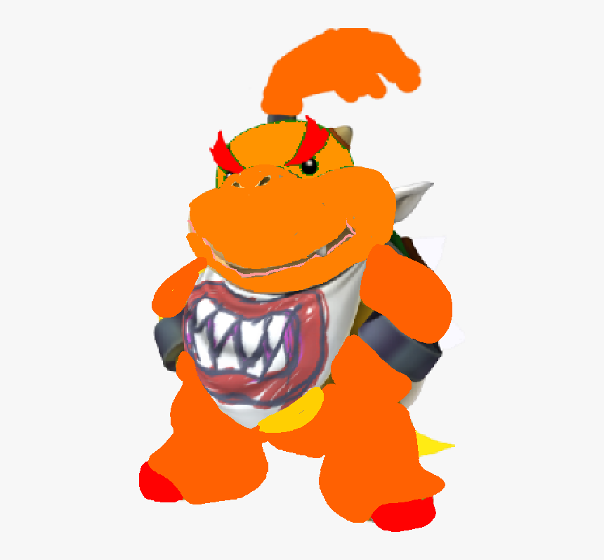 Giga Fire Bowser Jr Mario Dark Bowser Jr Hd Png Download