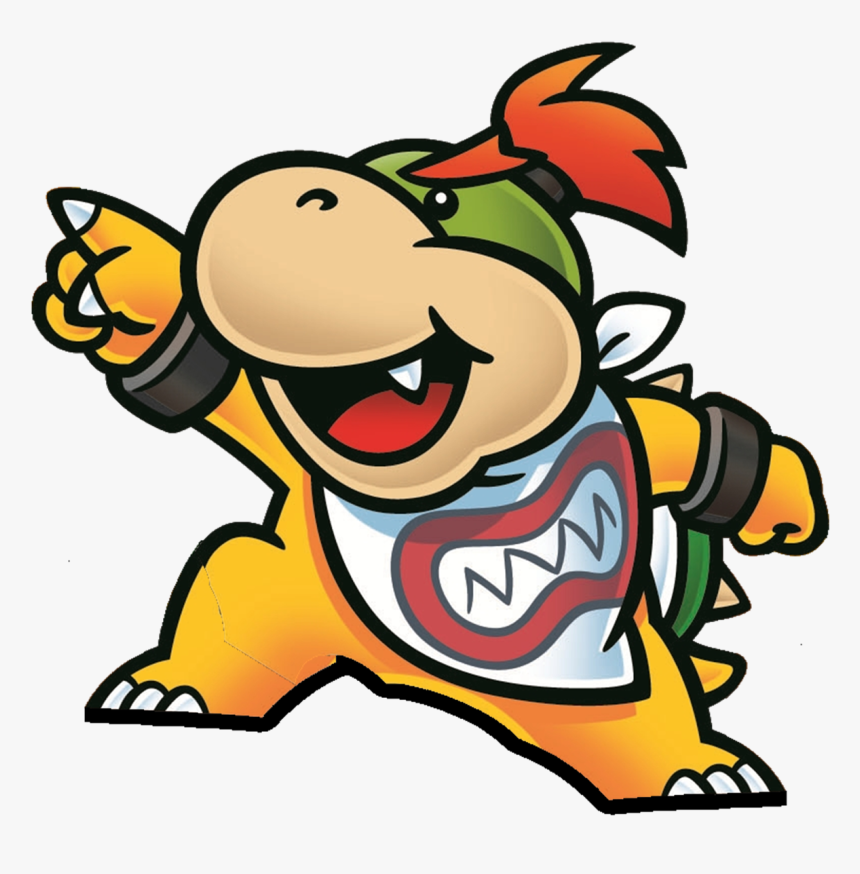 Bowser Jr Paper Mario Bowser Jr 2d Artwork Hd Png