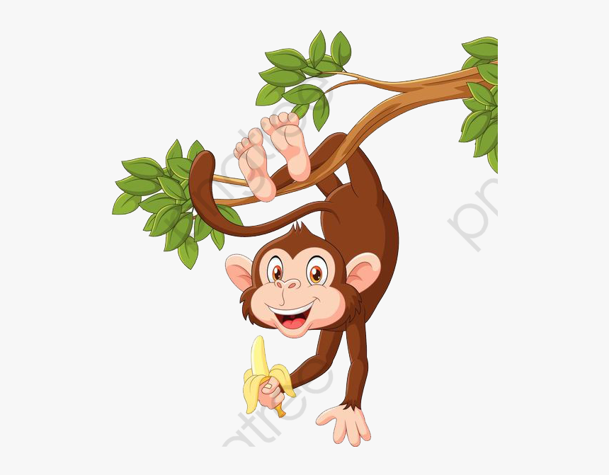 Monkey Clipart Upside Down Monkey Hanging On Tree Cartoon Hd Png Download Transparent Png Image Pngitem Small zoo animals, panda, lion png. monkey clipart upside down monkey