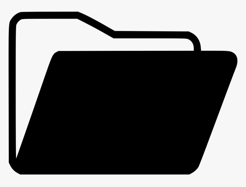 Transparent Folder Icon Png Transparent Folder Icon Black And White Png Download Transparent Png Image Pngitem