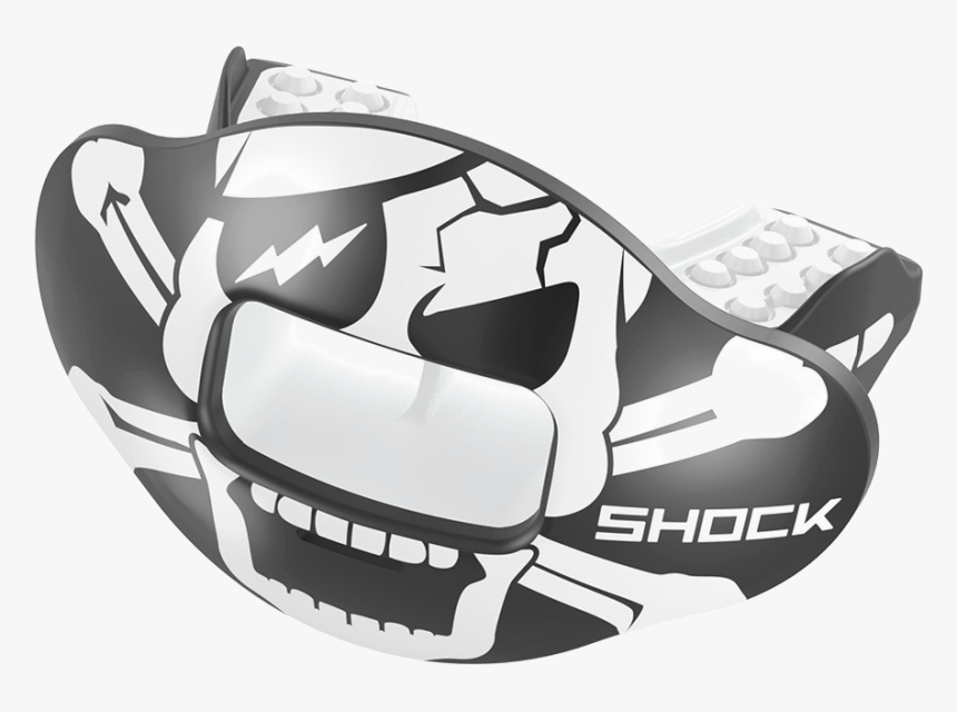 Skull & Crossbones Max Airflow Football Mouthguard - Mouth Guard