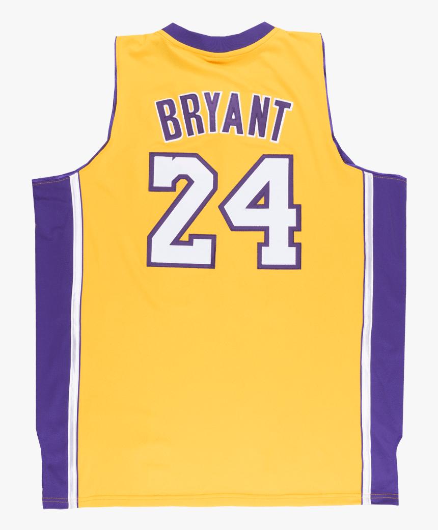 Adidas Los Angeles Lakers Kobe Bryant 24 Jersey Xlt - Transparent ...