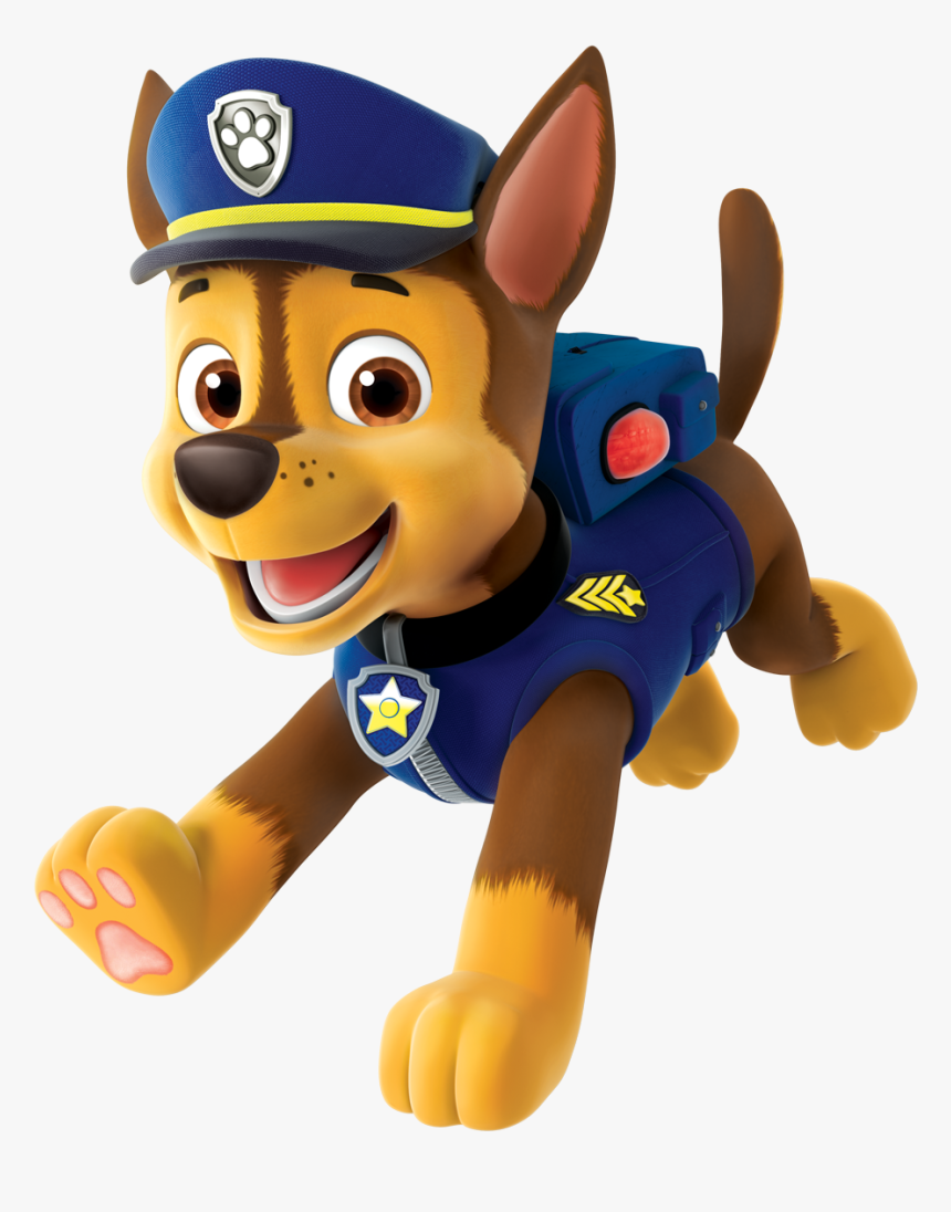 Chase Paw Patrol Clipart Png Paw Patrol Chase Png Transparent Png Transparent Png Image Pngitem