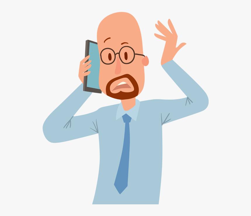 Phone talking cartoon on Funny Cartoon