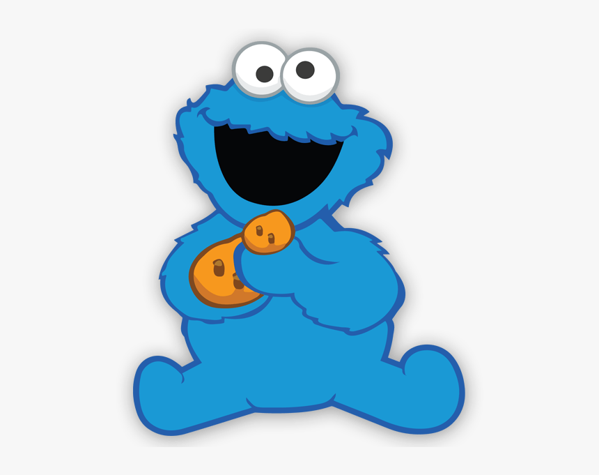 Wall Sticker For Kid The Baby Cookie Monster Baby Cookie