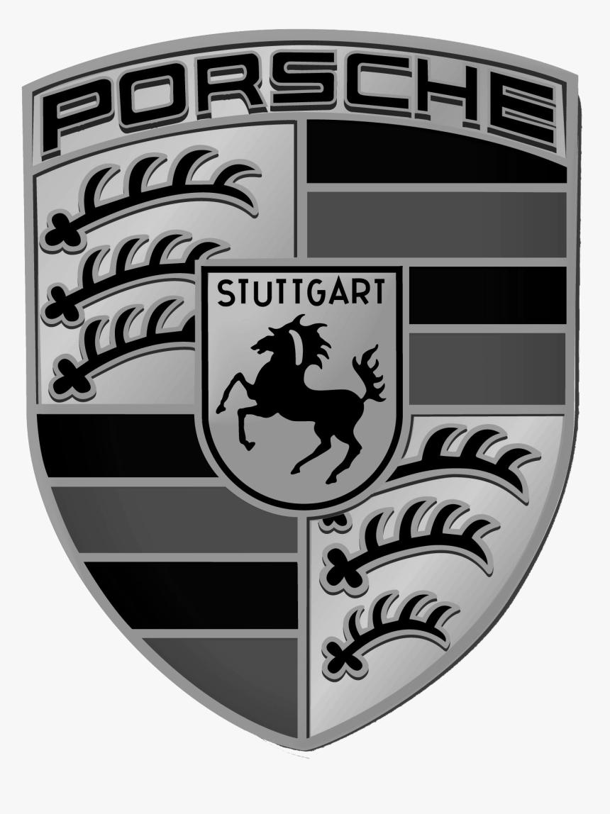 Porsche Logo - White Porsche Logo Png, Transparent Png , Transparent Png  Image - PNGitem