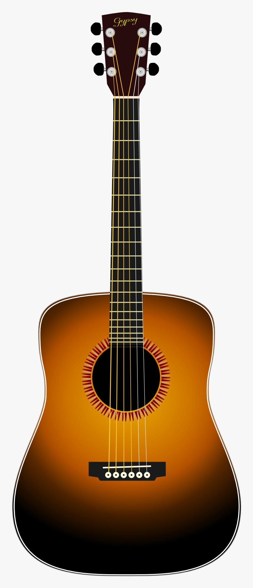 Transparent Guitar Drawing Png Acoustic Guitar Brown Guitar Png Png Download Transparent Png Image Pngitem