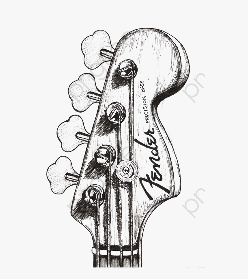 Transparent Guitar Clipart Top Of Guitar Drawing Hd Png Download Transparent Png Image Pngitem