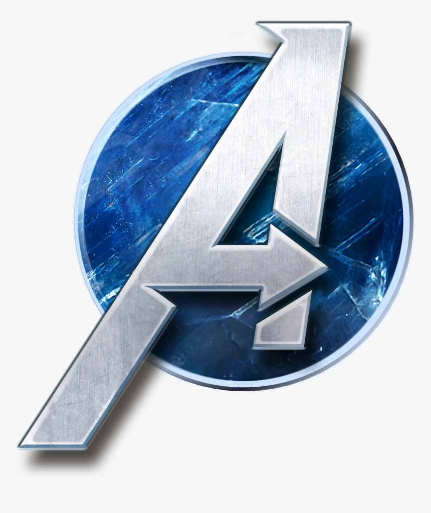 avengers video game logo hd png download transparent png image pngitem hd png download transparent png