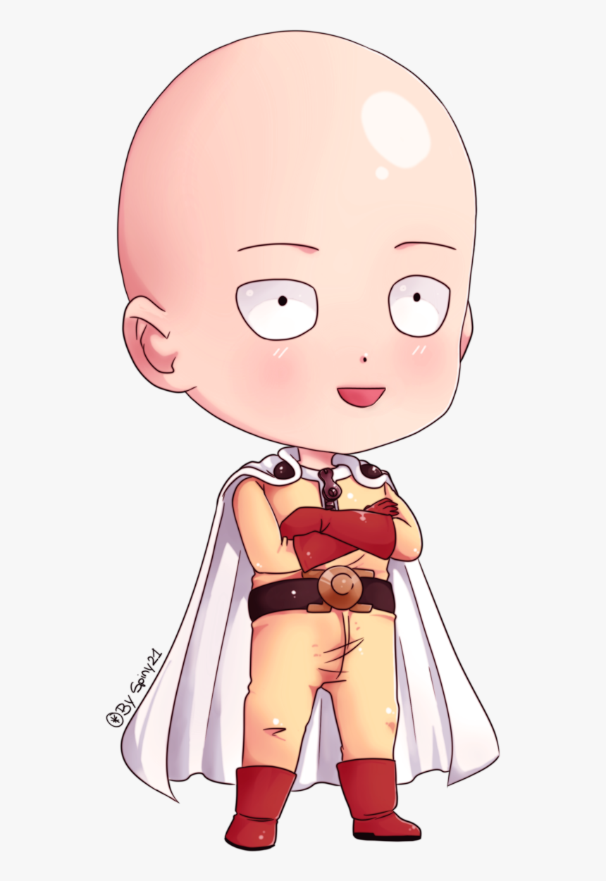 Chibi E Punch Man HD Download Transparent Image