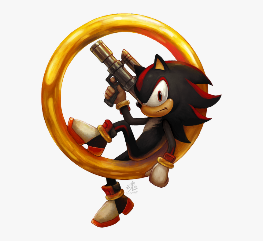 Sonic And Shadow Shadow The Hedgehog Fan Art Hd Png Download Transparent Png Image Pngitem