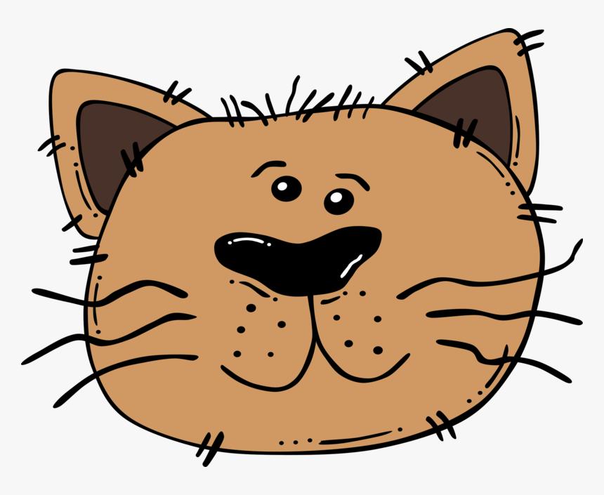 Cartoon Cat Face Cartoon Cats Face Png Transparent Png