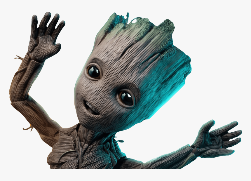 Baby Groot Wallpaper Iphone X Hd Png Download Transparent