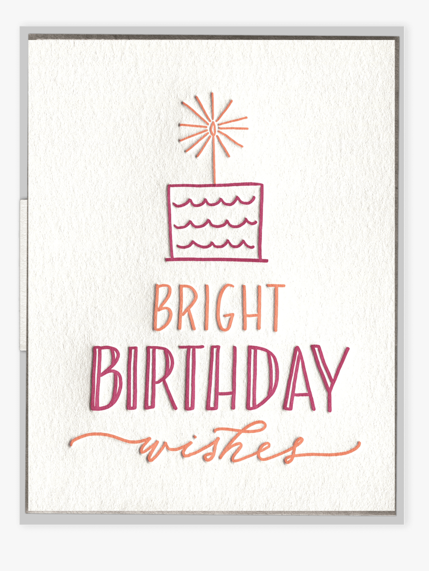 Excellent Bright Birthday Wishes Letterpress Greeting Card Hd Png Download Funny Birthday Cards Online Fluifree Goldxyz