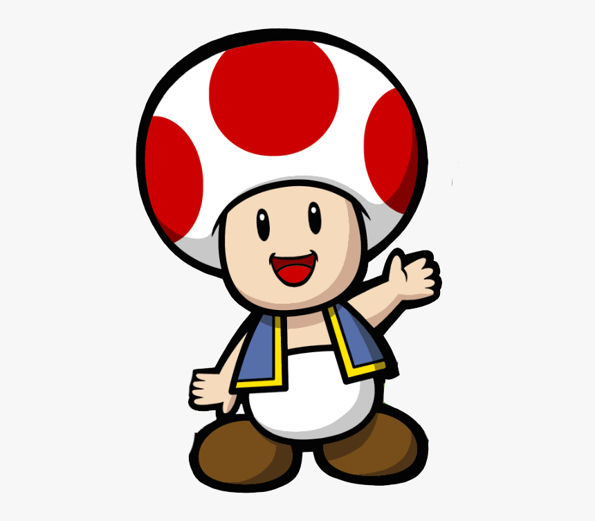 Transparent Nintendo Characters Png Super Mario Toad Cartoon