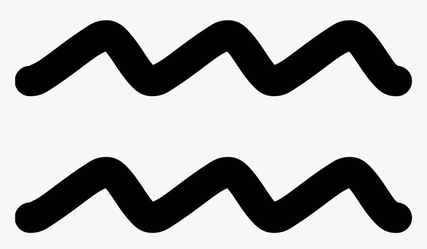 Line برج الدلو رمز Hd Png Download Transparent Png Image Pngitem