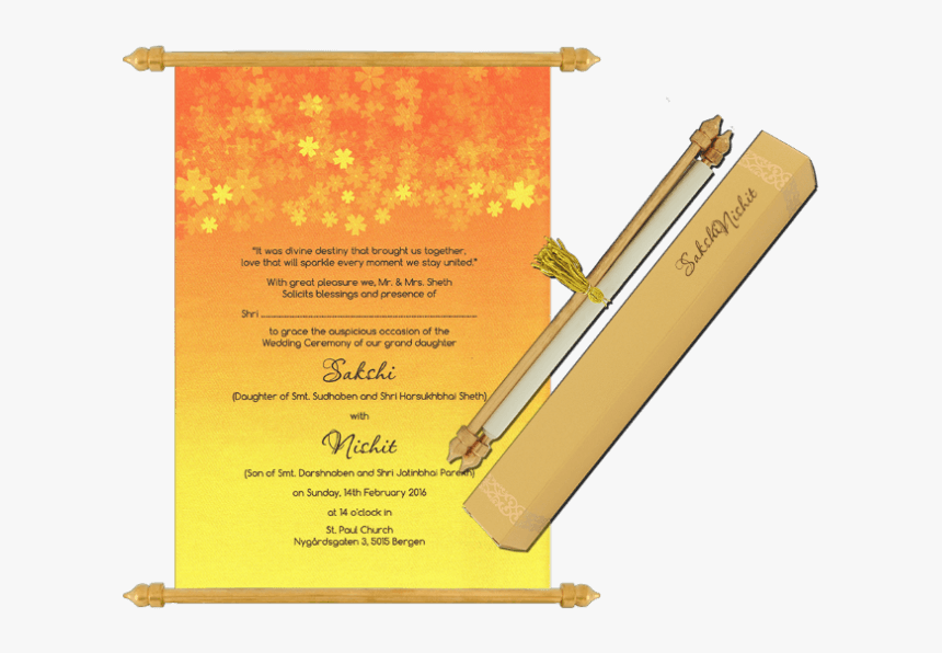 Shop Scroll Wedding Invitation Cards Online Shop