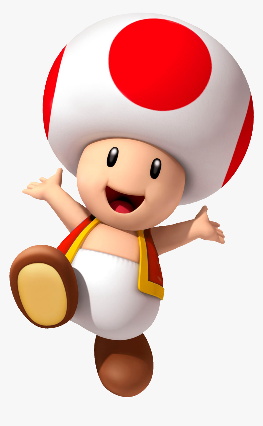 Super Mario Odyssey Toad Red Toad Super Mario Hd Png Download