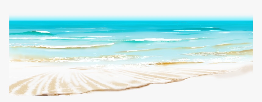 Transparent Wave Clip Art Png - Transparent Background Beach Waves Ocean  Png, Png Download , Transparent Png Image - PNGitem