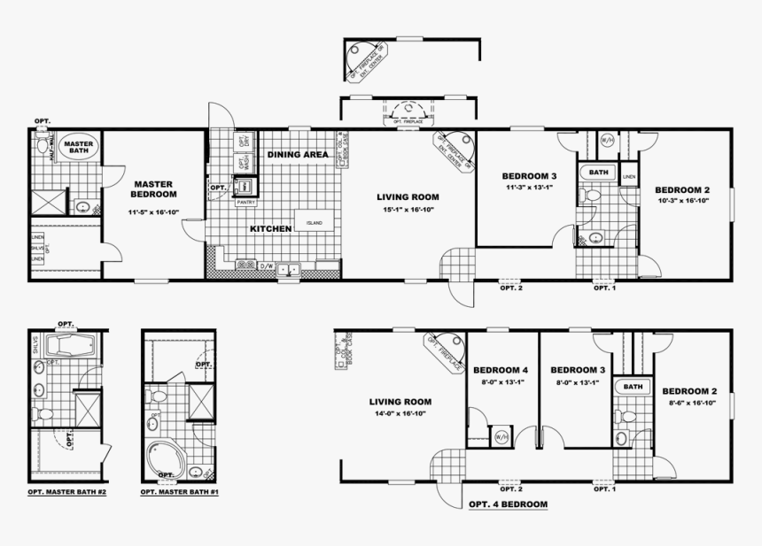 Clayton Homes Xtreme Floor Plans
