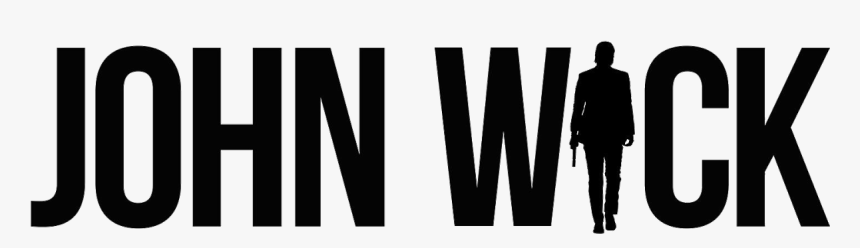 Youtube Film John Wick Black Text Png Image With John Wick Logo Png Transparent Png Transparent Png Image Pngitem
