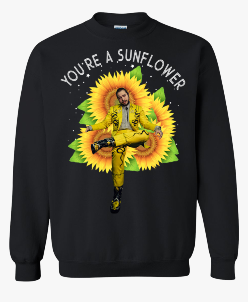 Post Malone You Re A Sunflower Hd Png Download Transparent Png Image Pngitem