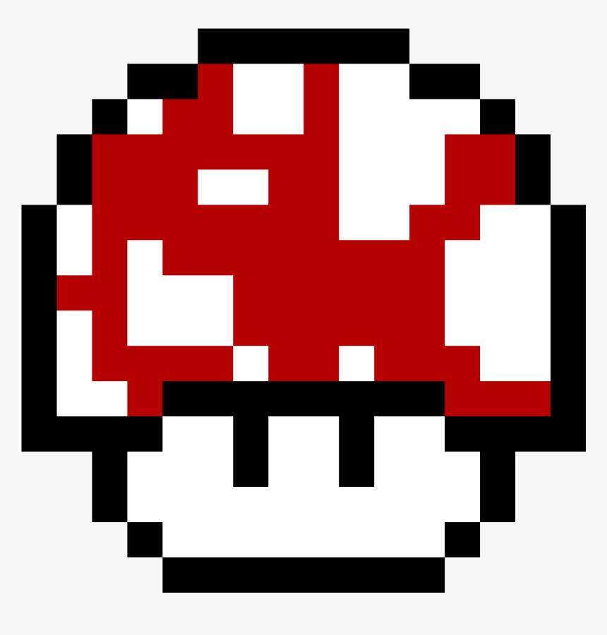 Super Mushroom Pixel Art Hd Png Download Transparent Png