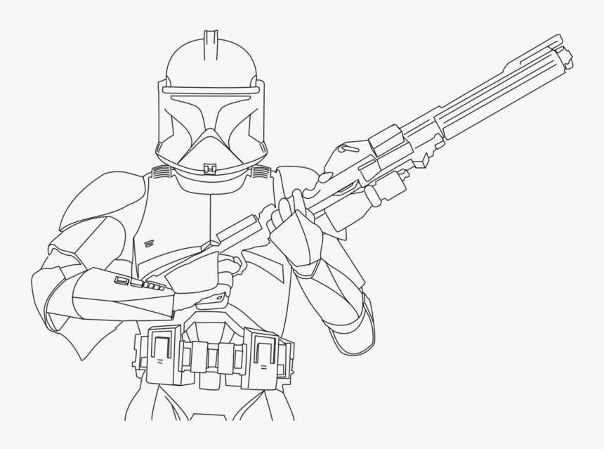 Star Wars Clone Trooper Coloring Pages - Coloring Home | 639x860