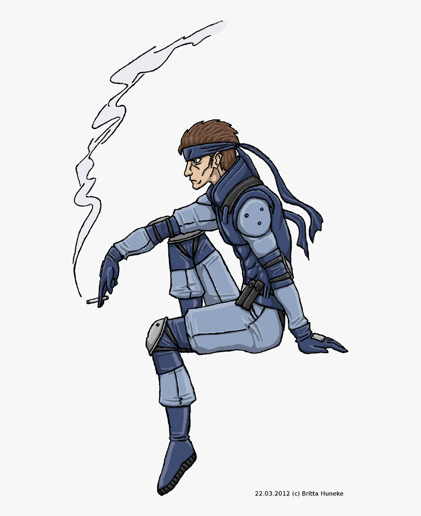 Solid Snake Art Png Transparent Png Transparent Png Image