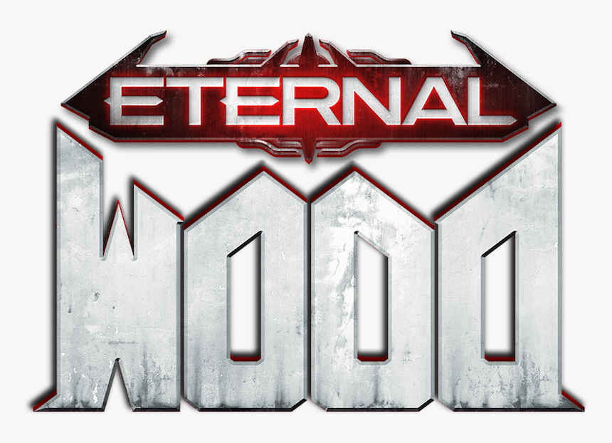 Eternal Red Text Font Product Doom Eternal Logo Hd Png Download