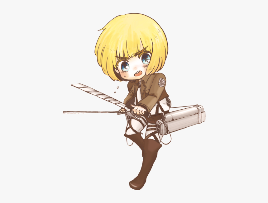 Armin Arlert Attack On Titan Armin Chibi Hd Png
