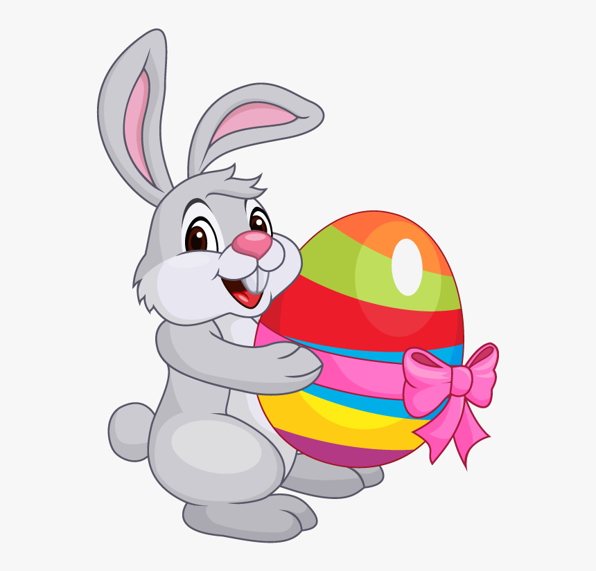 Easter-bunny - Transparent Easter Bunny Clipart, HD Png Download ...