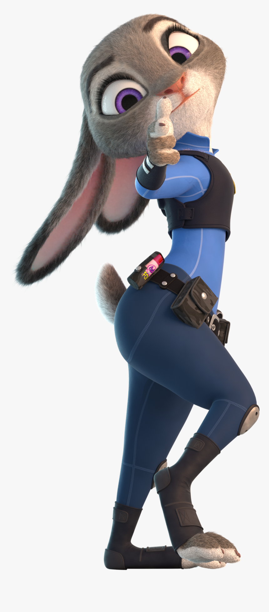 Judy Hopps Police Zootopia, HD Png Download , Transparent
