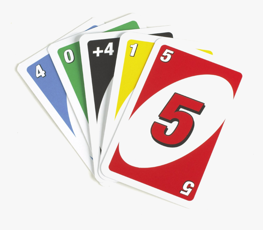 Playing Cards Uno Card Game Clipart Transparent Png