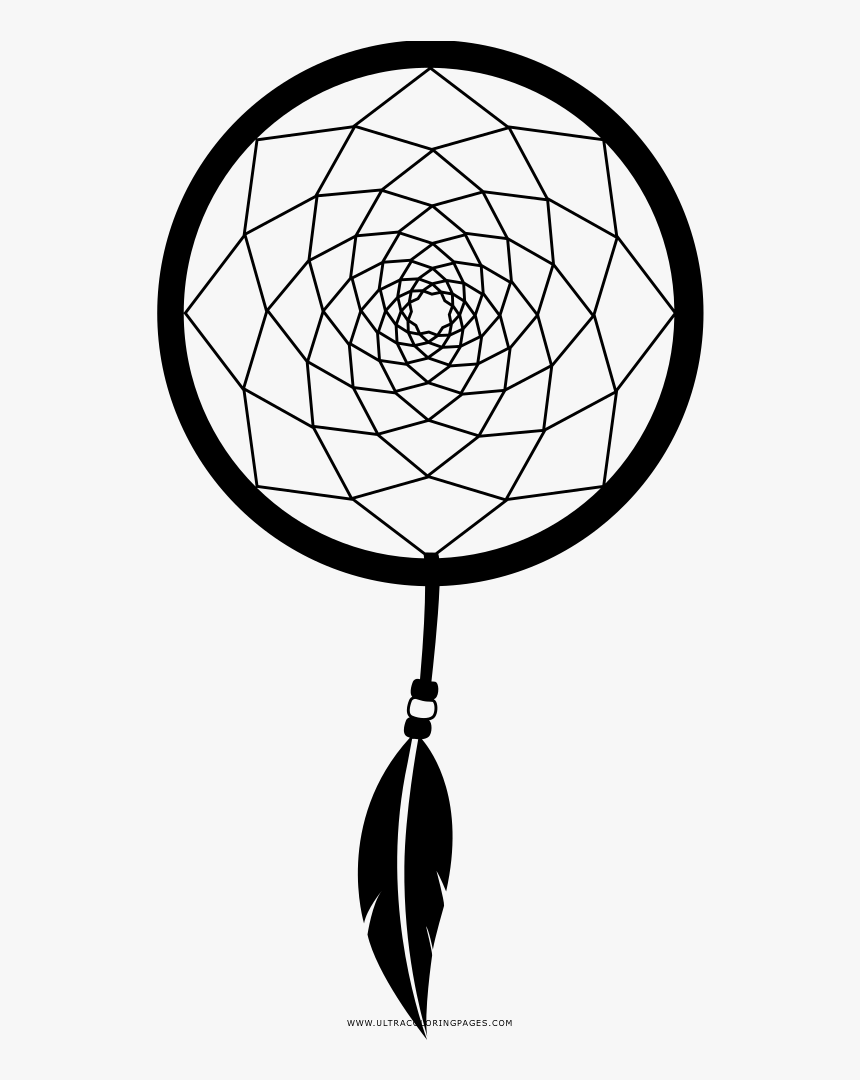 Dreamcatcher Coloring Page Easy First Nations Art Hd Png Download Transparent Png Image Pngitem