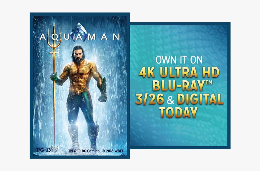 Jason Momoa Aquaman Poster Hd Png Download Transparent Png