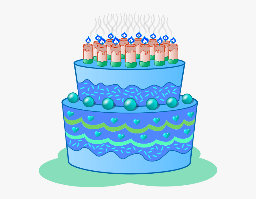 Surprising Blue Birthday Cake Clip Art Clipart Blue Cake Clip Art Hd Png Personalised Birthday Cards Cominlily Jamesorg