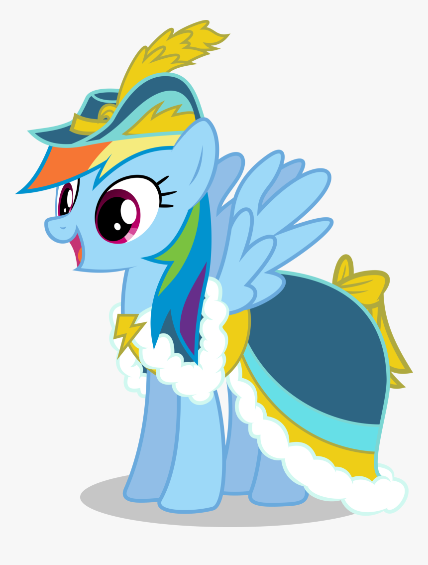 - My Little Pony Rainbow Dash Dress, HD Png Download , Transparent