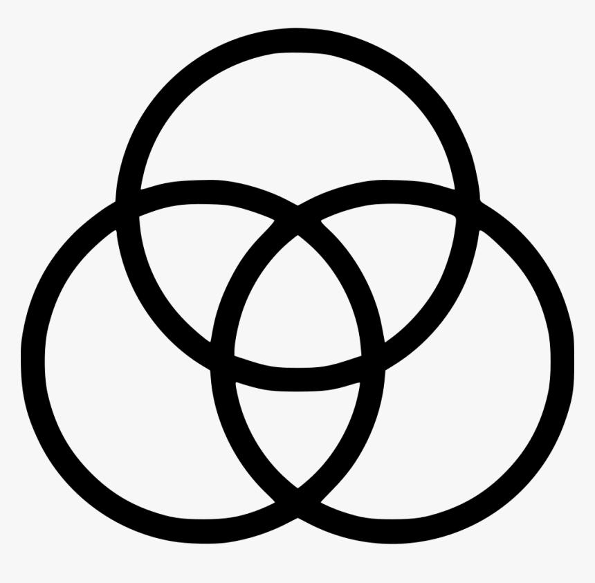 Venn Diagram Venn Diagram Icon Hd Png Download