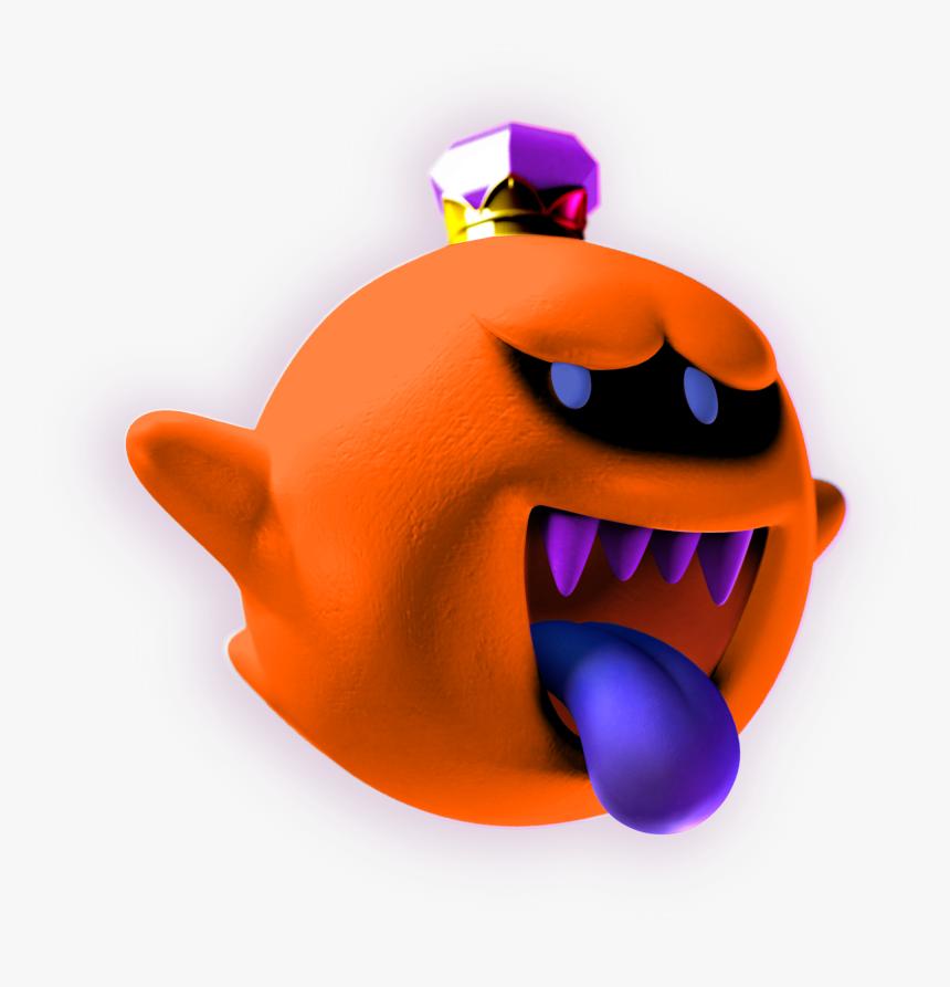 Jssb King Boo Alt 8 Png Download Ghosts Luigi S Mansion