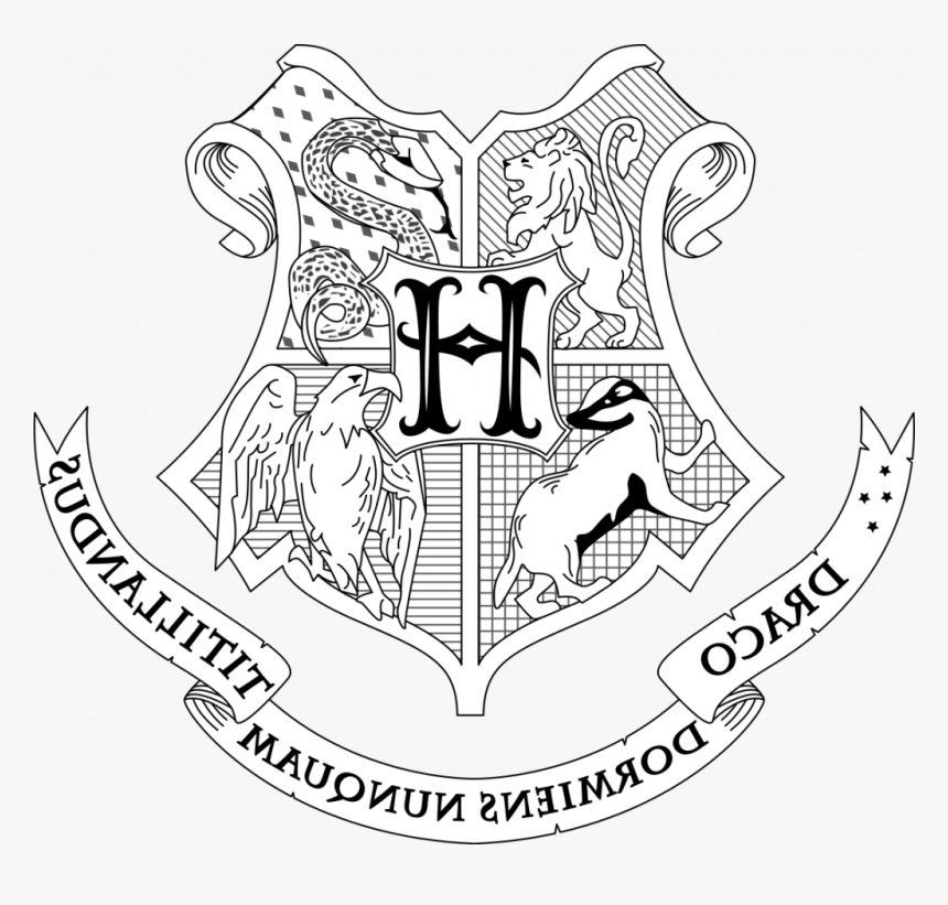 Interesting Harry Potter Coloring Pages Hogwarts House Harry