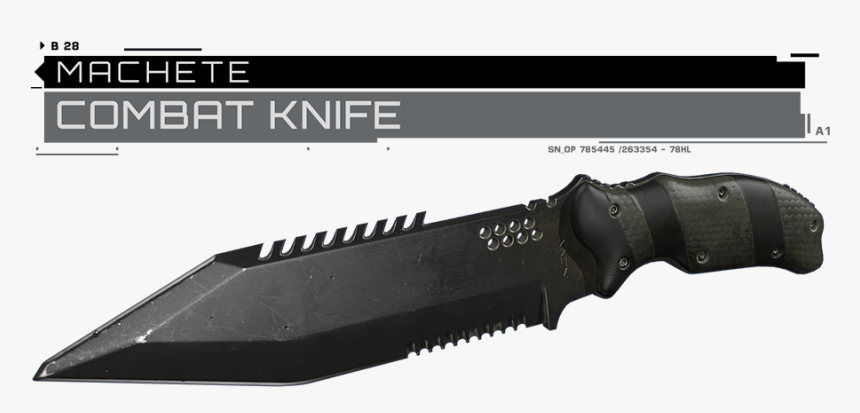 Replaces Machete With Combat Knife From Call Of Duty Infinite Warfare Nv4 Chaos Hd Png Download Transparent Png Image Pngitem