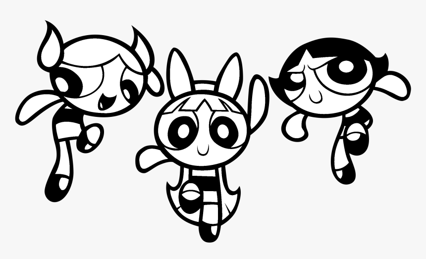 Powerpuff Girls Coloring Pages