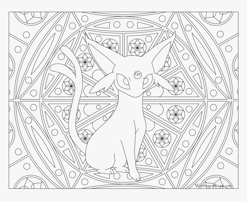 Download Umbreon Drawing At Getdrawings - Pokemon Coloring Pages ... | 702x860