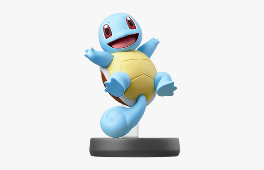 Super Smash Bros Ultimate Squirtle Amiibo Hd Png Download
