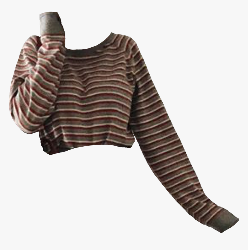 Brown Aesthetic Striped Sweater, HD Png Download
