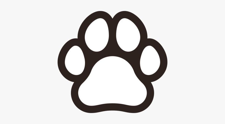 Dog Print Wondrous Paw Prints Clip Art Stylist Top Black And White Paw Print Clipart Hd Png Download Transparent Png Image Pngitem