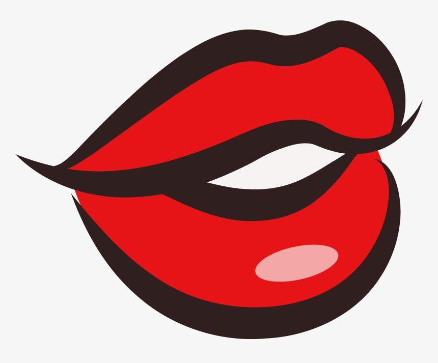 Kissing Lips Clip Art